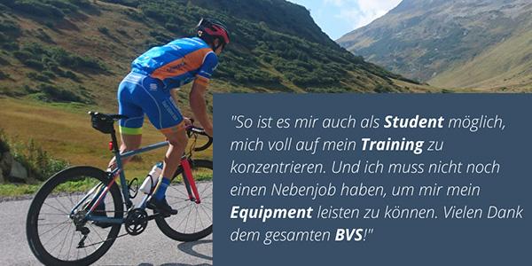 Para Radfahrer Jakob Klinge ist unermüdlich in Bayern unterwegs