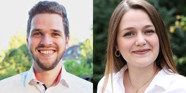 Alexander Maier und Marcella Moschini