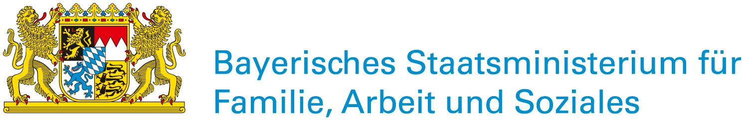 Logo des Bayerischen Sozialministerium für Familie, Arbeit und Soziales